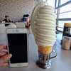 再開したマルカンデパート改めマルカンビル大食堂でソフトクリーム食べてきた!