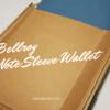 【スリム財布】本音でレビュー!ベルロイ ノートスリーブウォレット【比較あり】
