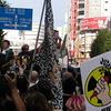 再び、新宿で原発デモ。