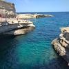 マルタで見た海