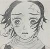 お絵かきブーム【無限列車編】の夢の中で家族に会った時の炭治郎を描きました