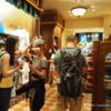 上海ディズニー 4日目 イグナイト前の場所取り