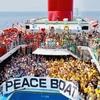 洋上大運動会と若者と〜ピースボート乗船記