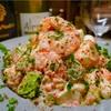 【レシピ】海老とモッツァレラチーズの明太マヨ
