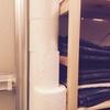 トイレットペーパー収納は狭い場所に立てる