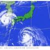 台風の気圧変化