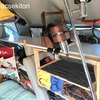 製作日誌 棚製作/自作 バンコン キャンピングカー      〜広く使うために、敢えて狭くする発想の転換〜