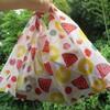 夏休みの手芸におすすめ!8個目のあずま袋、スイカパインの柄が予想以上にかわいいです!
