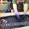 【読谷村】「体験王国 むら咲むら」で沖縄伝統の藍染で手ぬぐいを作ってみた