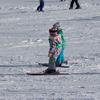 娘のスキー