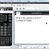 TI-Nspire & Lua / コルーチン 5 / resume するときに coroutine に引数を渡す