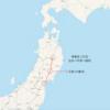 東日本&北海道パスの旅 2日目。東北本線 仙台〜平泉〜盛岡