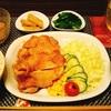 鶏もも肉で鶏の照り焼き定食(*´▽`*)
