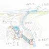 王子製紙第一発電所調整池(北海道千歳)