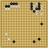 Master対AlphaGoZeroの棋譜9