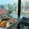 マリーナベイサンズ55階 CLUB55さんで朝食ビュッフェ!!