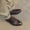 靴の抜き差し