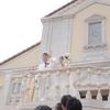 【結婚式当日レポ14】フラワーシャワー