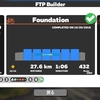 ローラー51、Zwift - FTP Builder - Foundation、ワークアウト中に途中でやめるとどうなる?