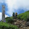 ◆8/6    鳥海山…矢島口より④ 山頂付近にて