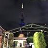 8月1日(火)hatenaより夜の東京タワー。
