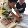 次男たっちゃん2歳の誕生日にココアケーキとココナッツクッキーを手作り