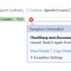 iTextSharpでPDFを回転,選択する