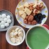 自宅で楽しく抹茶チョコレートフォンデュ。簡単レシピ!