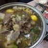 肉食な日:牛バラ鍋に追い牛バラ