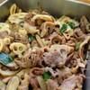 豚肉と蓮根、ごぼうの生姜煮