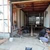 佐渡 古民家の改修/新しい床下地づくり