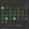習慣アプリ