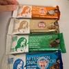 輸入菓子:イート・ラボ:プロテインバースリムシークレット(ミント・クッキー&クリーム・キャラメル・カフェラテ)
