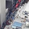 日本橋騒然…雑居ビルから出火、男女4人搬送