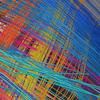 重なりあうフラットケーブルのような脳神経の構造:NIHの拡散スペクトラム・イメージング画像