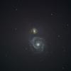 子持ち銀河 M51 りょうけん座 Arp85