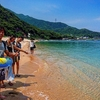 日本のハワイ?北陸の隠れ海水浴場!夏のみ現れる無人島「福井県 水島」が綺麗な件
