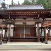 筑北村の岩殿寺に行きました
