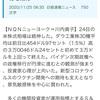 【速報】NYダウ30種平均続伸3万ドル超え SPYD売却