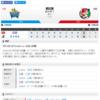 2019-04-14 カープ第15戦(横浜スタジアム)●2対4 横浜(4勝11敗0分)もはや打つ手なし。どれだけ弱いの、カープって?
