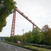 高松空港の赤い橋