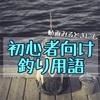 【釣り初心者向け】釣り用語!これを見れば釣り動画も楽しくなる!