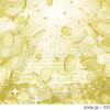 コインラッシュ8[階段+降り注ぐコイン+積み上がるコイン+放射+キラキラ大+フレア大]