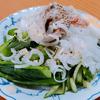 5月12日(日)昼食のサバ缶うどんと、夕食のサバの干物。
