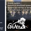 "GeNa 地形上に草木などのPrefabを広範囲に手早く配置。自動的に最適化もかかる""大人気作者が作った""Terrain系エディタ"