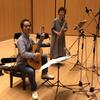 「竹内竜次&石井暁子(fl)デュオアルバム」CD収録が完了しました!