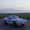Porsche Turboに乗って、隣町からの花火二日目。