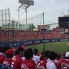 初めて神宮球場に行ってきました。