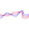 Illustrator 波打った複数の線を描く方法