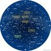 星座の名前とその起源: 国際天文学連合で認められた星座の総数は88個あるそうで,学名はラテン語.人類がはじめて地球を歩き回って以来ずっと,空に見える天体に大きな意味が与えられ,名前や神話物語が,夜空の星のパターンによるものとされてきました.このようにして,私たちが星座として知っているものが生み出されました.考古学的な研究は,17300年前ごろの南フランスのラスコー壁画に,天文の模様とみられるものを確認しています.